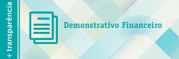 Demonstrativo Financeiro Mensal out, nov e dez/16 e jan/17