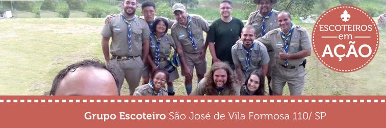 Grupo Escoteiro São José de Vila Formosa faz Indaba 2017