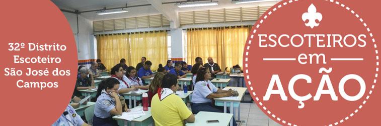 32º Distrito Escoteiro São José dos Campos realiza Indaba 2017