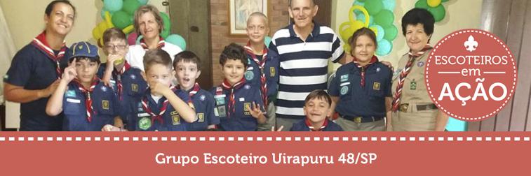 Festa do Pijama dos Lobinhos do Grupo Escoteiro Uirapuru