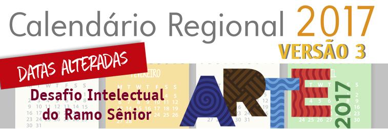 Calendário Regional versão 3