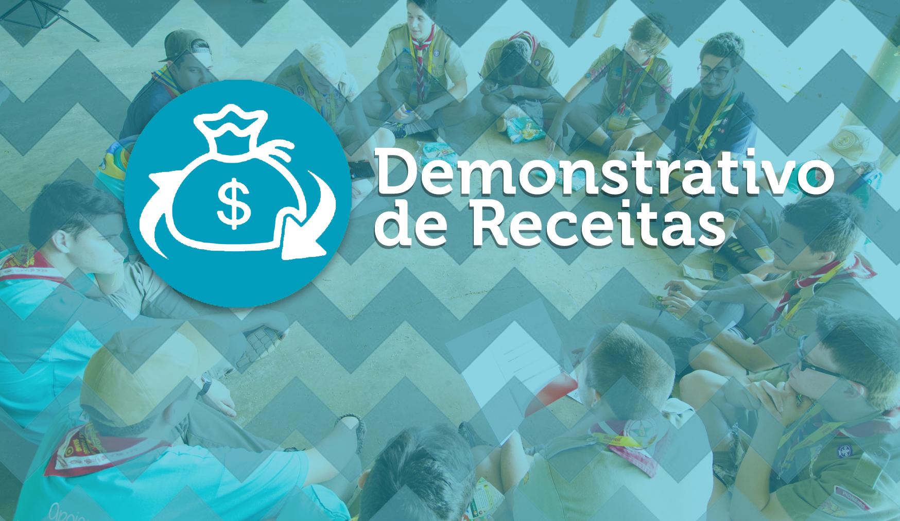 Demonstrativo de Receitas e Despesas dos Cursos e Eventos Regionais de 2016