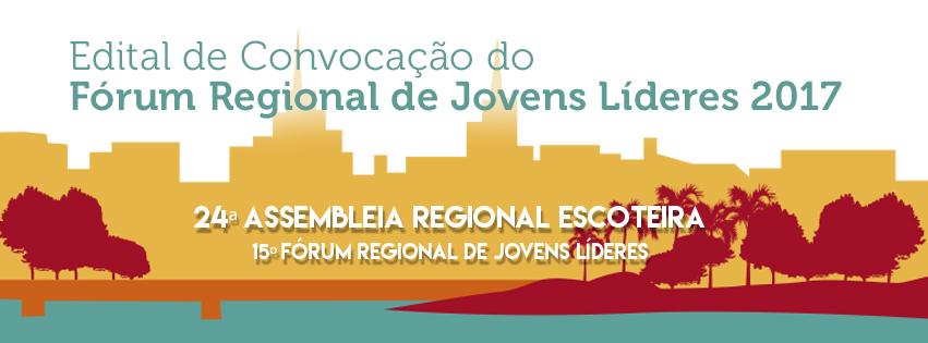 Edital de Convocação 15º Fórum de Jovens Líderes
