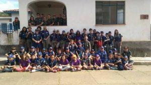 Escoteiros de Valinhos visitam a Floresta Nacional de Ipanema