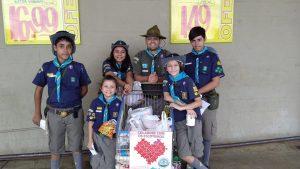Escoteiros de Araraquara realiza arrecadação de donativos
