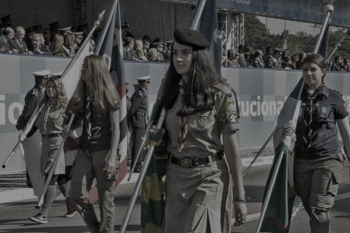 Desfile Cívico-Militar de 09 de julho – Comemorativo ao 86º Aniversário da Revolução Constitucionalista de 1932