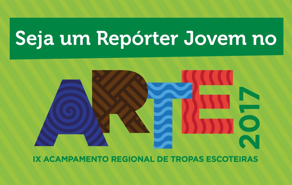 Seja um Repórter Jovem no ARTE 2017