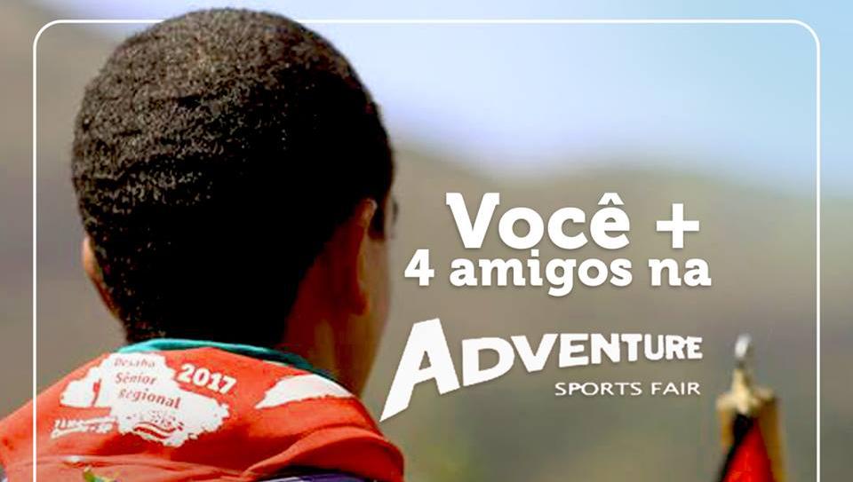 Convite aos Escoteiros para a Adventure Sports Fair – Participe!