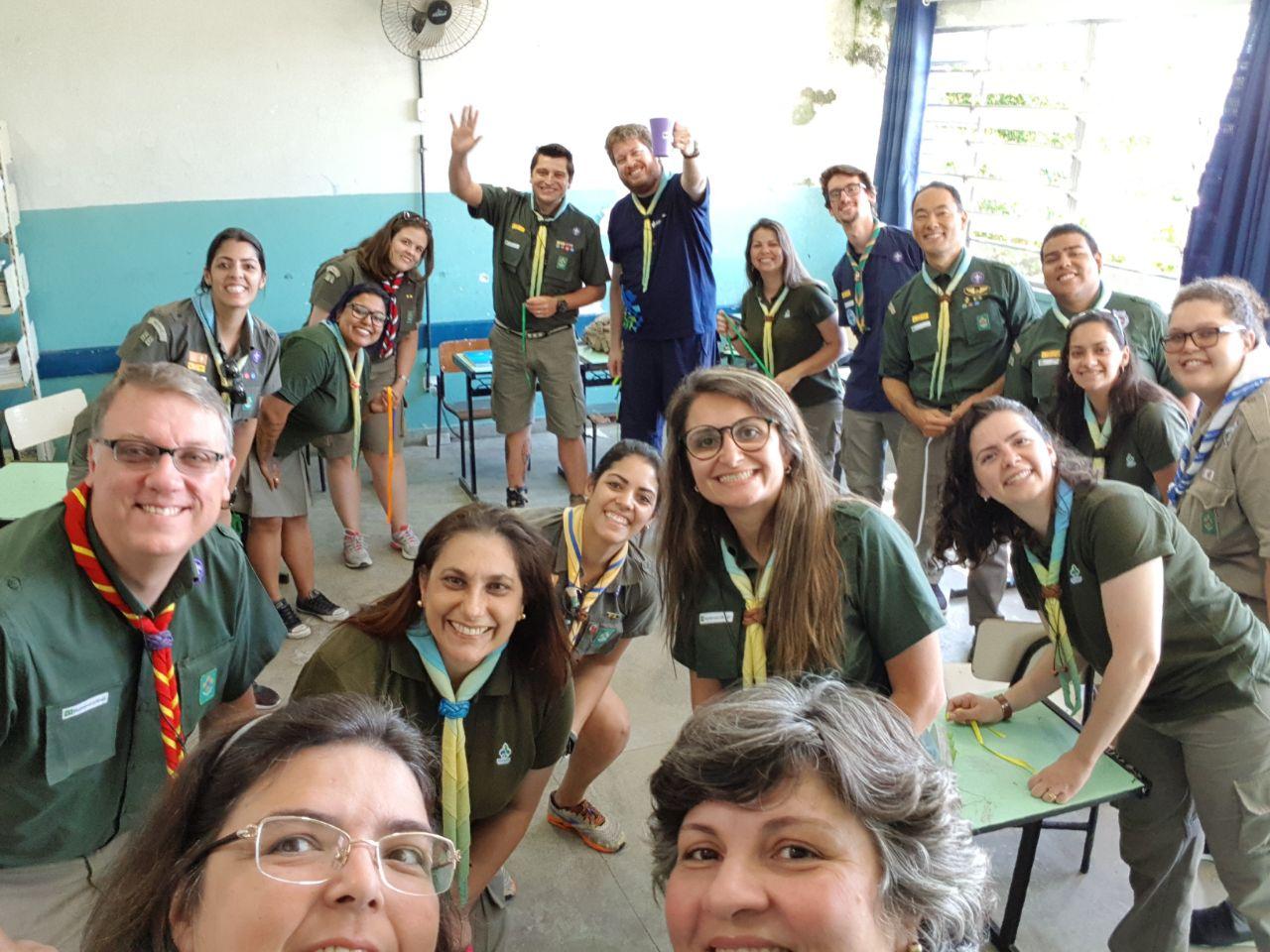 Mudanças na Equipe Regional de Programa Educativo de SP dos Escoteiros do Brasil