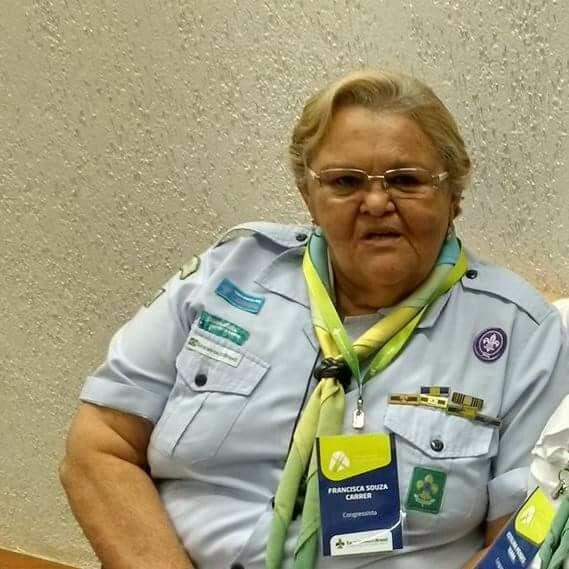 Escoteira  Francisca Souza Carrer segue para o Grande Acampamento