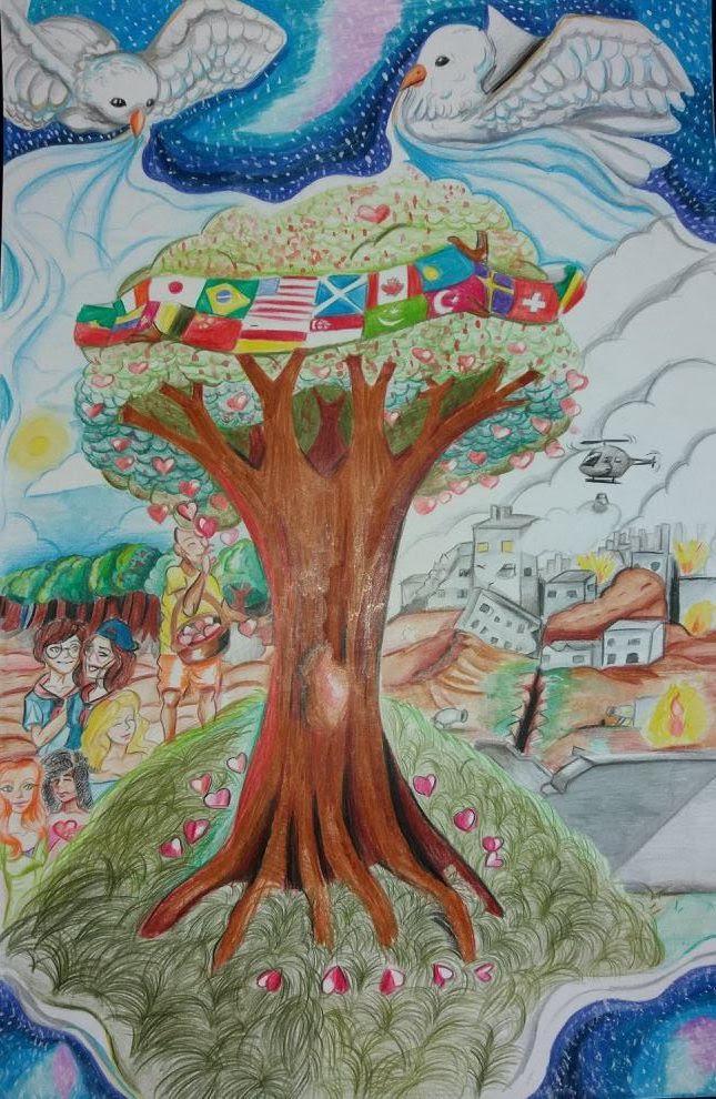 Escoteira é finalista de concurso internacional de desenho
