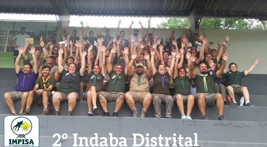 Indaba Distrital reúne mais de 70 escotistas em São João da Boa Vista