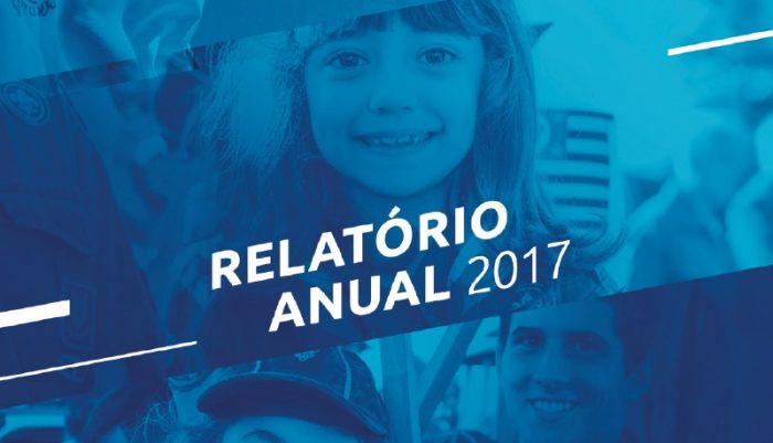 Relatório Anual 2017 para download