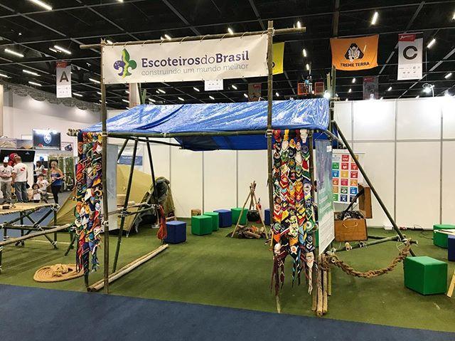 Movimento Escoteiro ganha visibilidade na Adventure Sports Fair 2018