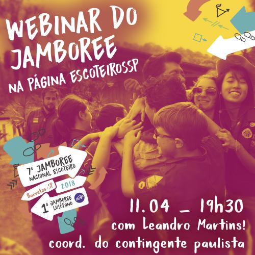 Tire suas dúvidas na Webinar do Jamboree
