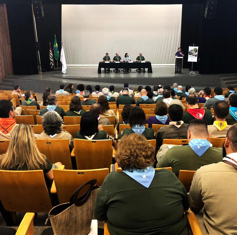 Encontro de Gestores define os rumos da Região Escoteira de São Paulo para o próximo triênio