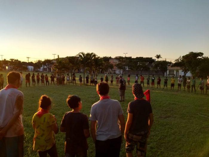 """Grupo Escoteiro Uirapuru promove atividade """"Escoteiros por um dia"""" na Fundação Romi"""