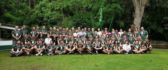 Paulistas participam dos Cursos de Formadores 1 e 2 no Centro Escoteiro Jaraguá