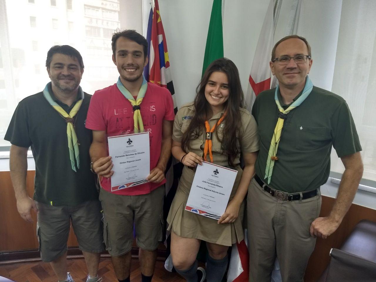 Júlia Ribeiro é a nova Diretora Adjunta Jovem de SP