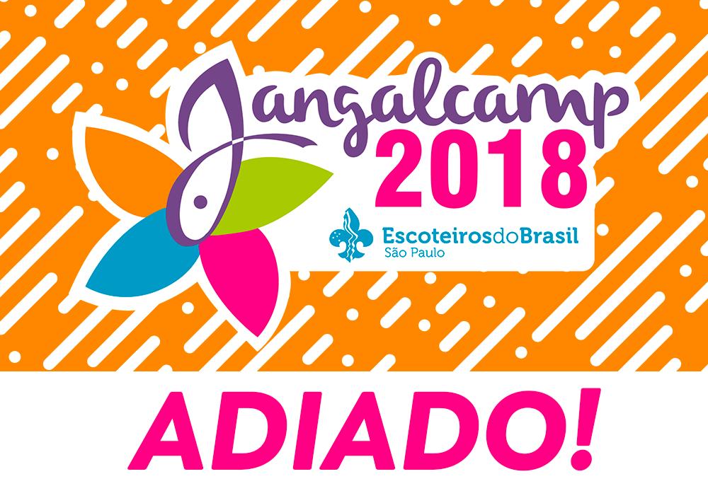 Nota sobre o adiamento do Jangalcamp 2018
