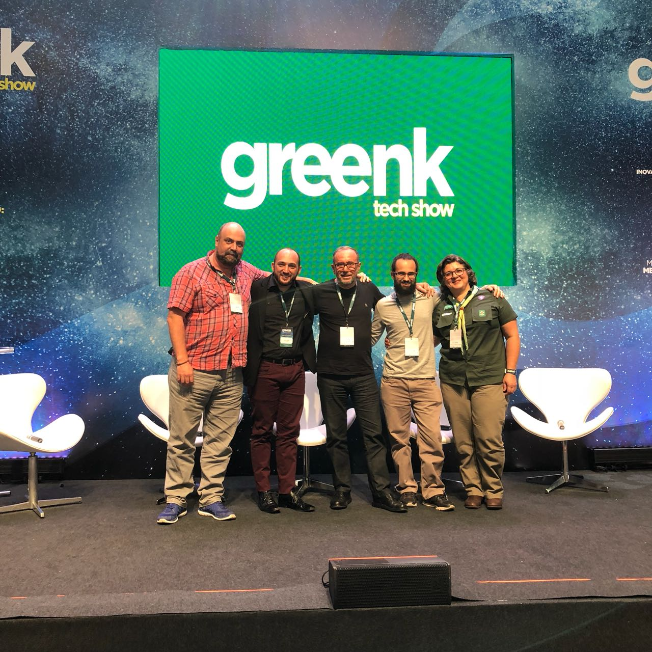 Bia Reali participa de bate-papo no Greenk Tech Show