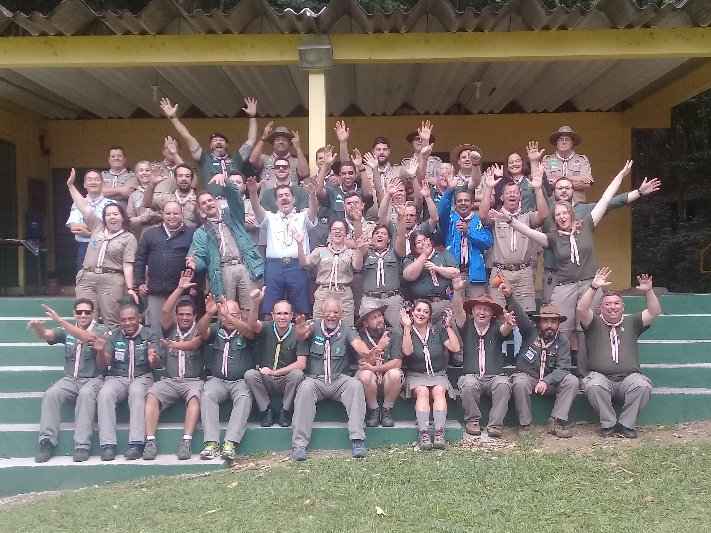 Centro Escoteiro Jaraguá recebe Seminário Preparatório de Formadores