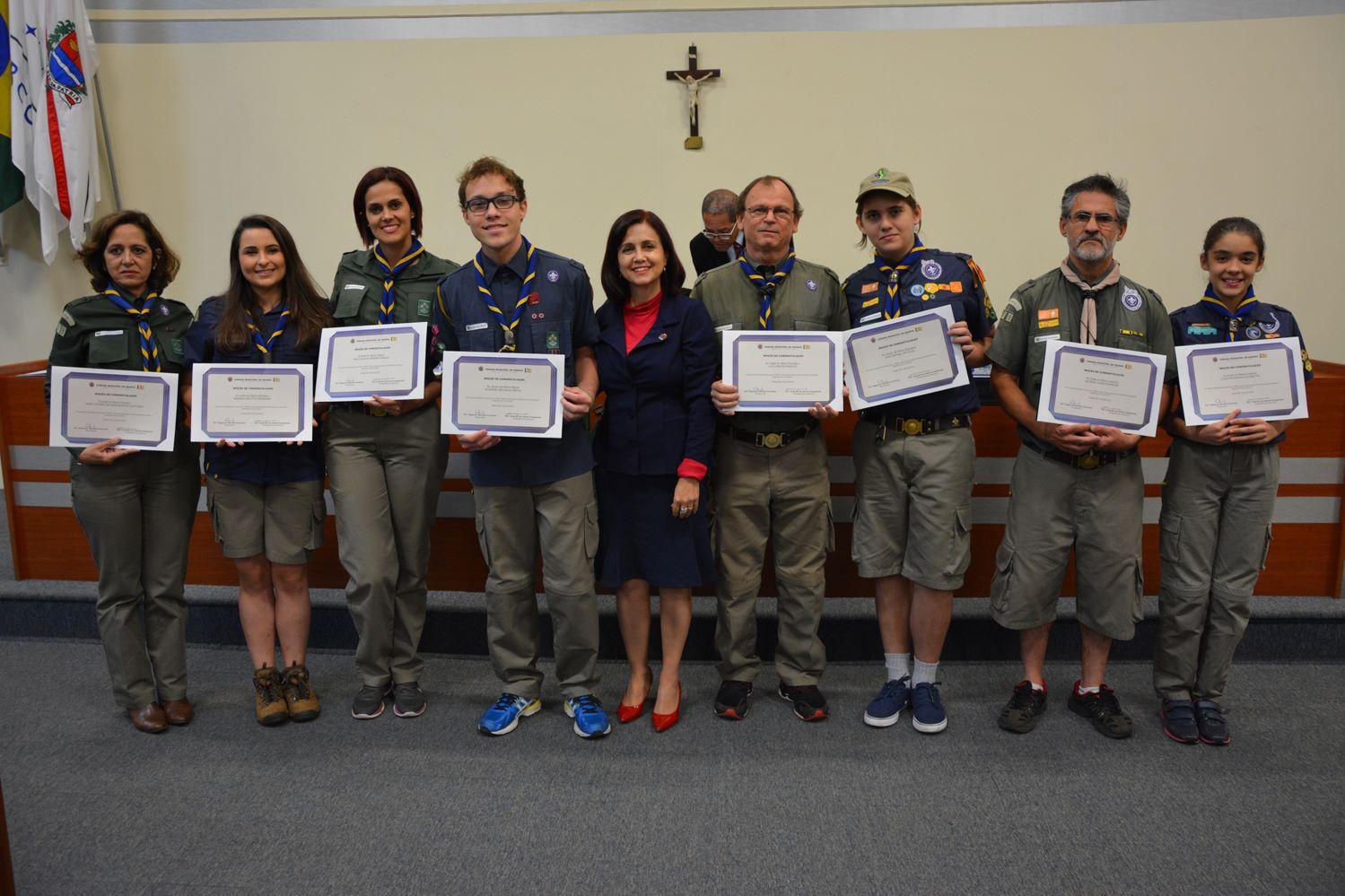Clipping: Escoteiros serão homenageados com Diploma de Mérito pela Câmara Municipal de Araras