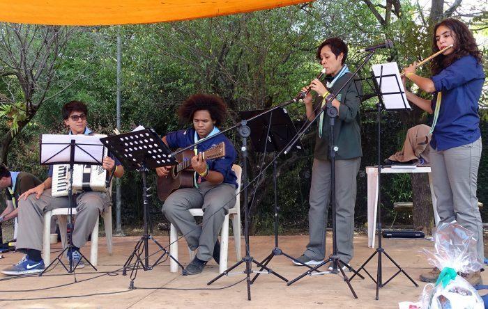Corpo Musical Escoteiro participa de homenagem à escotista e musicista Lídia Ikuta