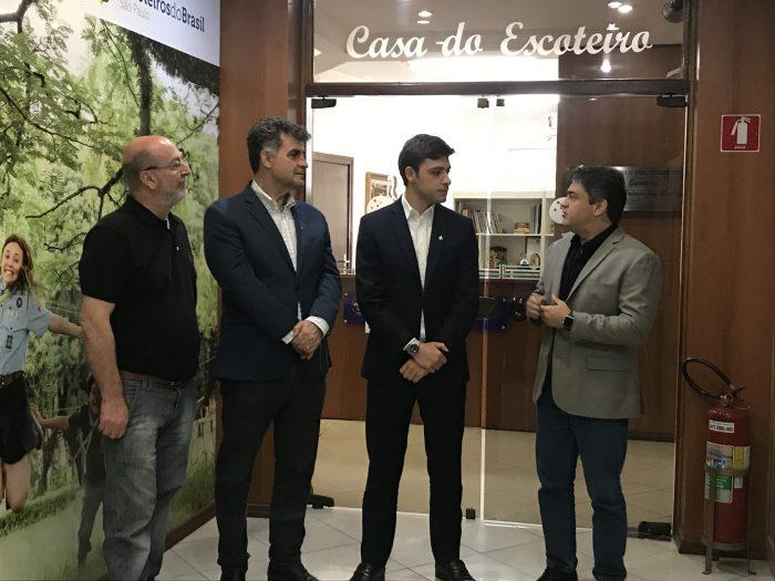 Diretoria Regional se reúne com novo deputado estadual, Thiago Auricchio