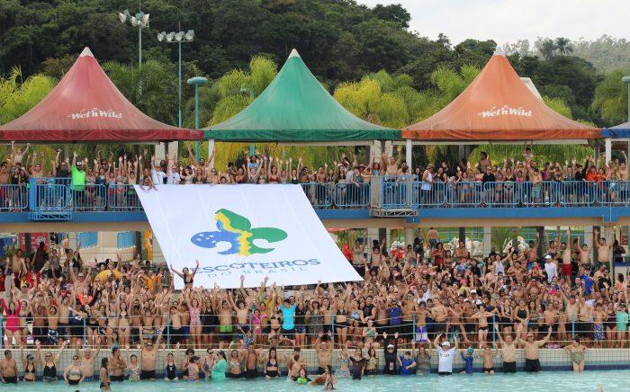 Mais de dois mil participantes se divertem no Encontrão Escoteiro 2019