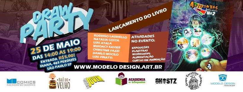 Grupo Escoteiro Tabapuã recebe 7ª edição do evento Draw Party
