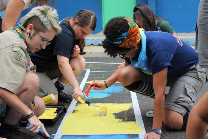 Coordenação Mundo Melhor realiza Encontro Regional com ação social em escola de Cotia