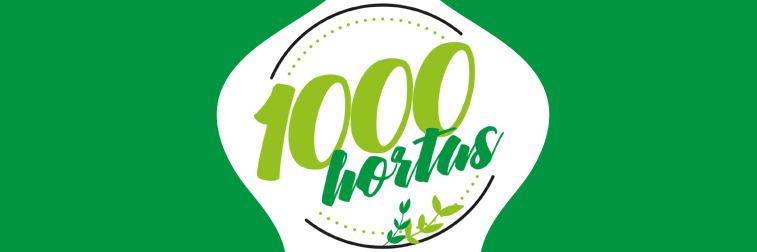Faça parte: Mobilizadores do 1000 Hortas