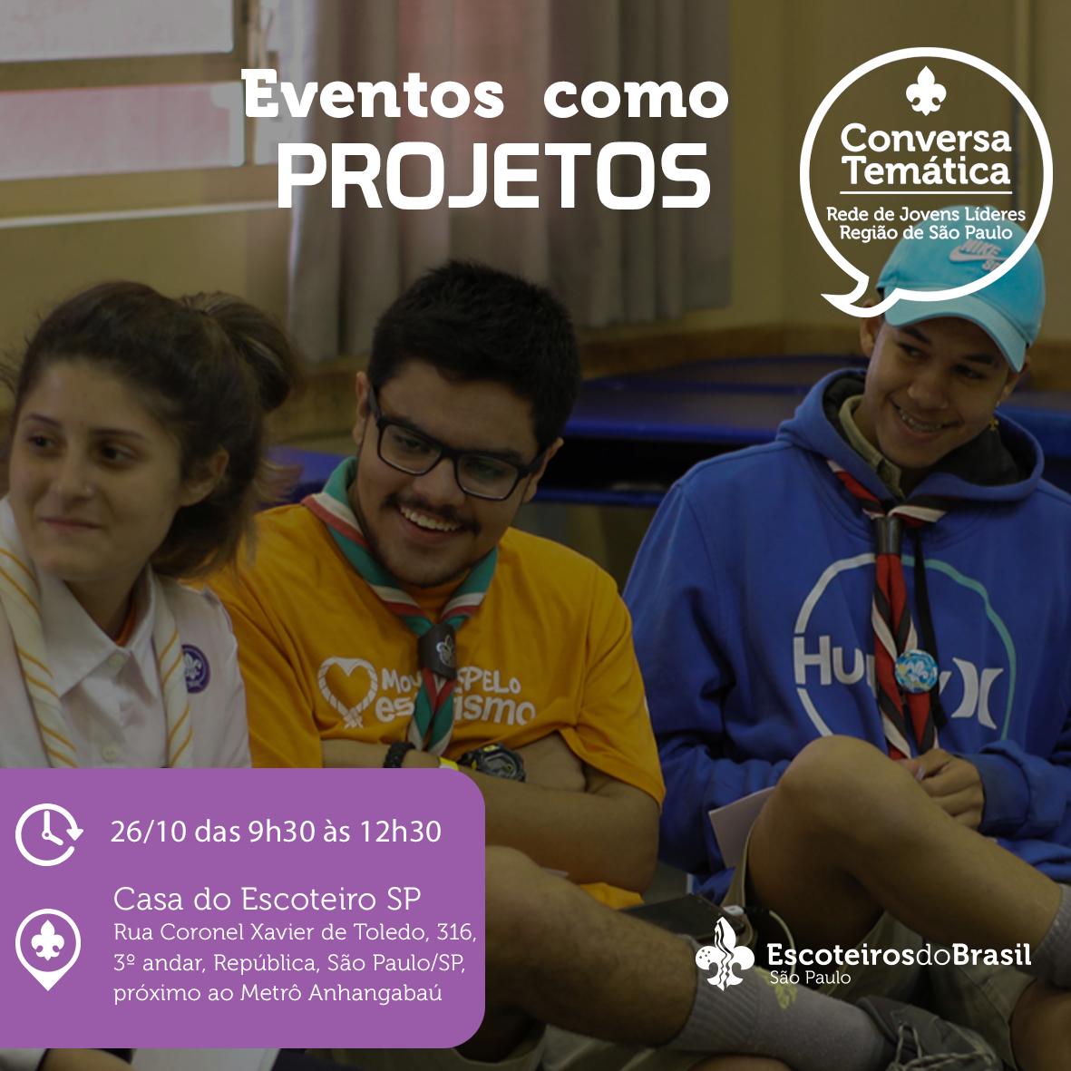 Conversa Temática: Eventos como Projetos