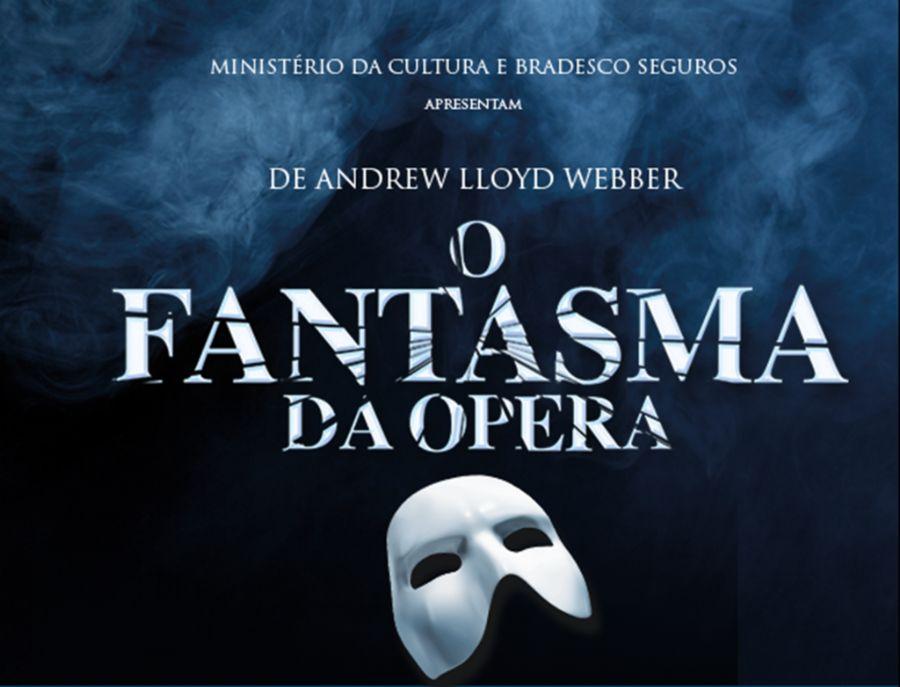 Ingressos gratuitos para O Fantasma da Ópera