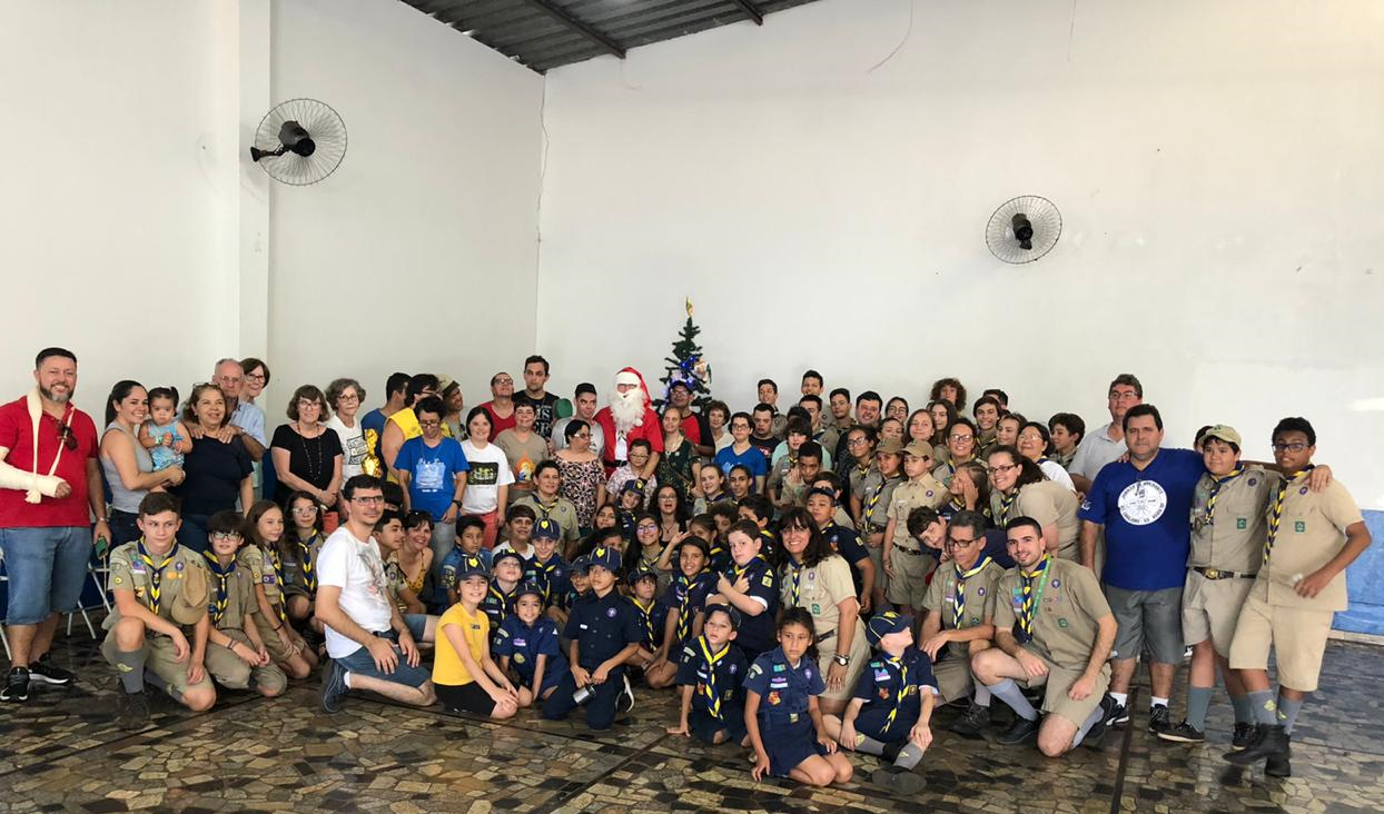"""Grupo Escoteiro realiza a 12ª edição do projeto """"Natal Melhor Possível"""""""