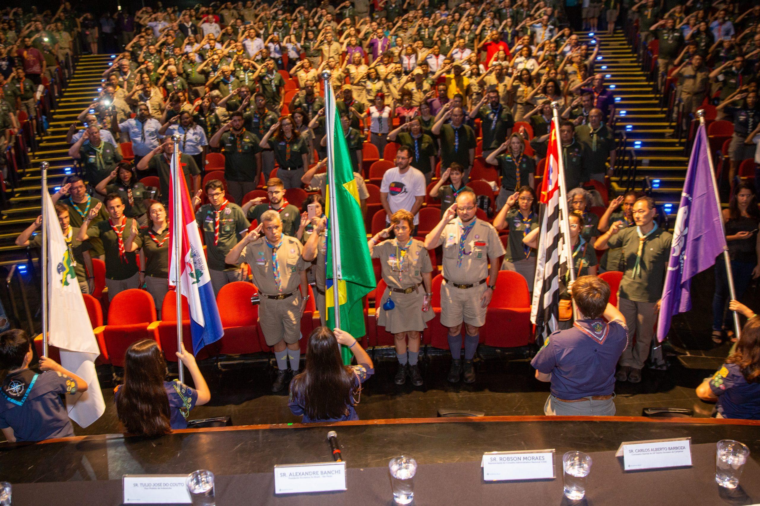 Assembleia Regional Escoteira e Fórum Regional de Jovens Líderes acontecem com duração reduzida
