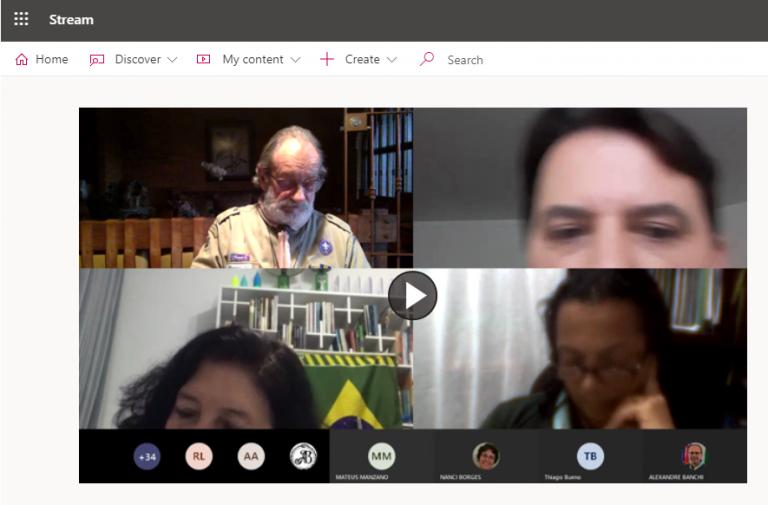 Conselho Consultivo Regional realiza primeira reunião virtual