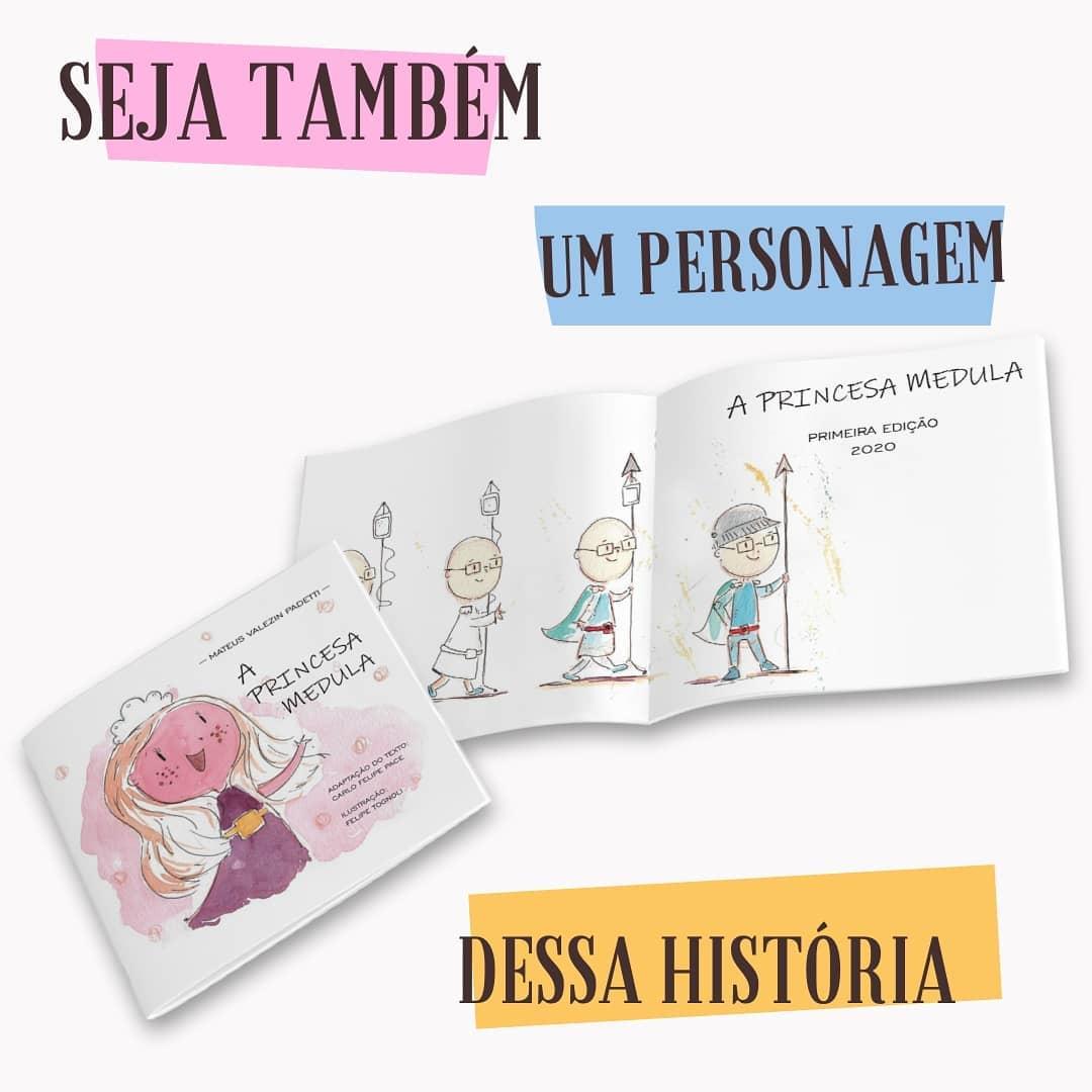 """Super Mateus e o livro """"A Princesa Medula"""" – Lançamento"""