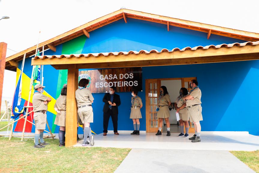 Grupo Escoteiro Itupeva ganha nova sede