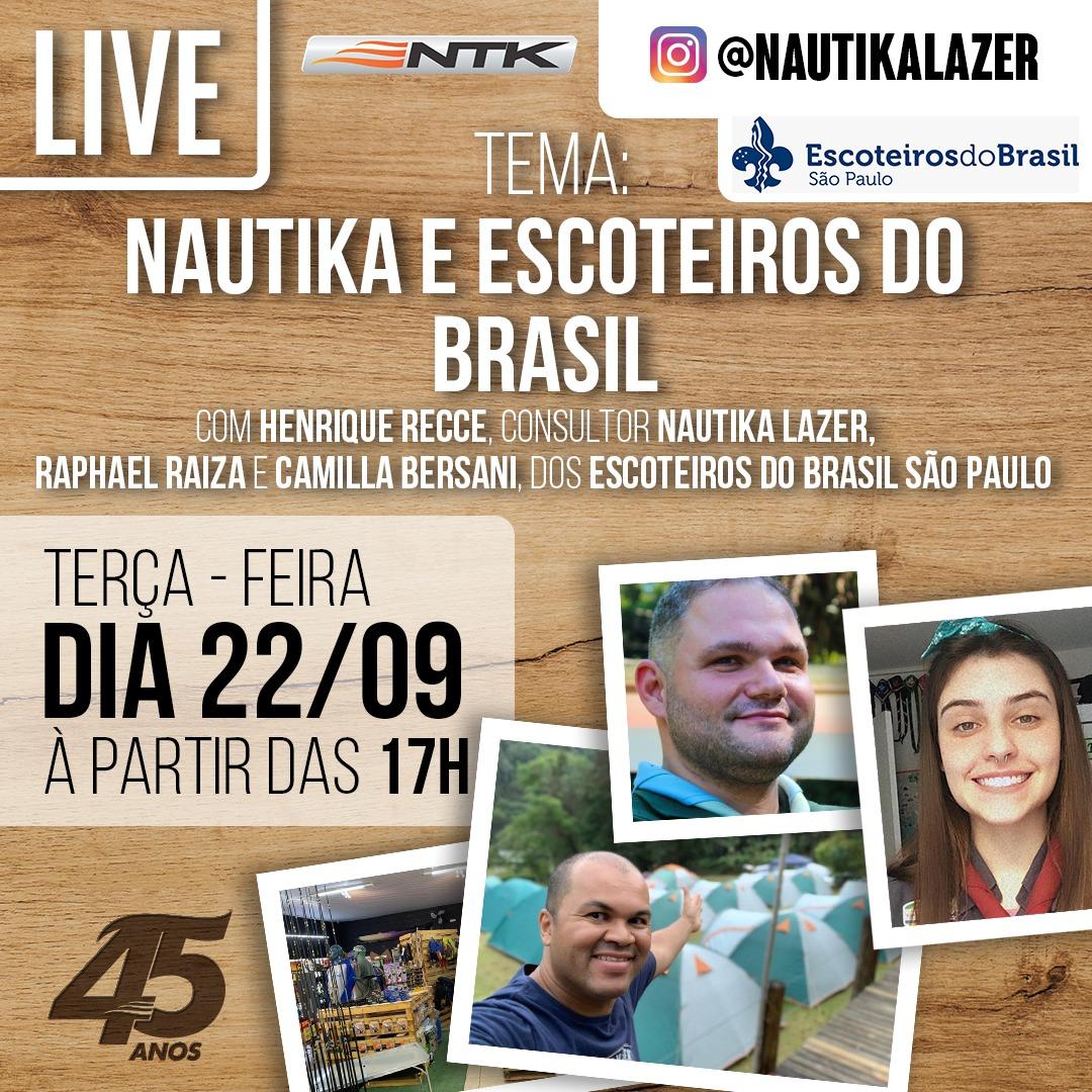 Live – Nautika e Escoteiros SP (22/09)
