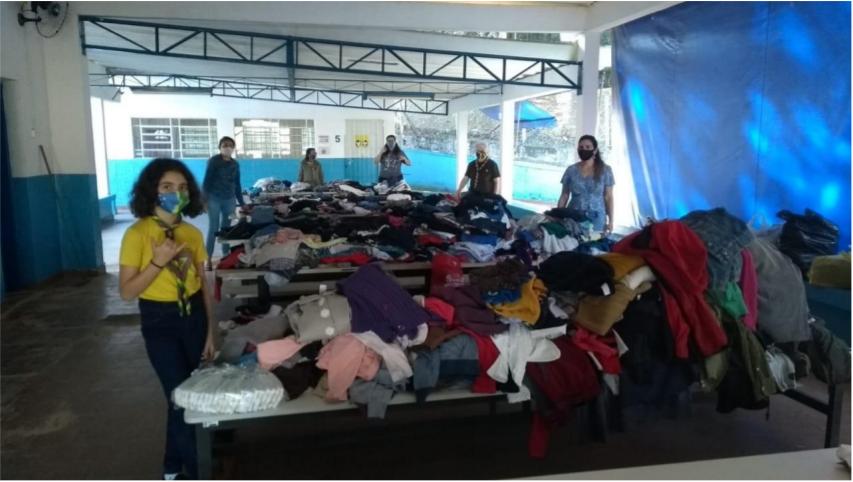 """Escoteira de Arujá recebe Moção de Parabenização por projeto """"Cidade Solidária"""""""