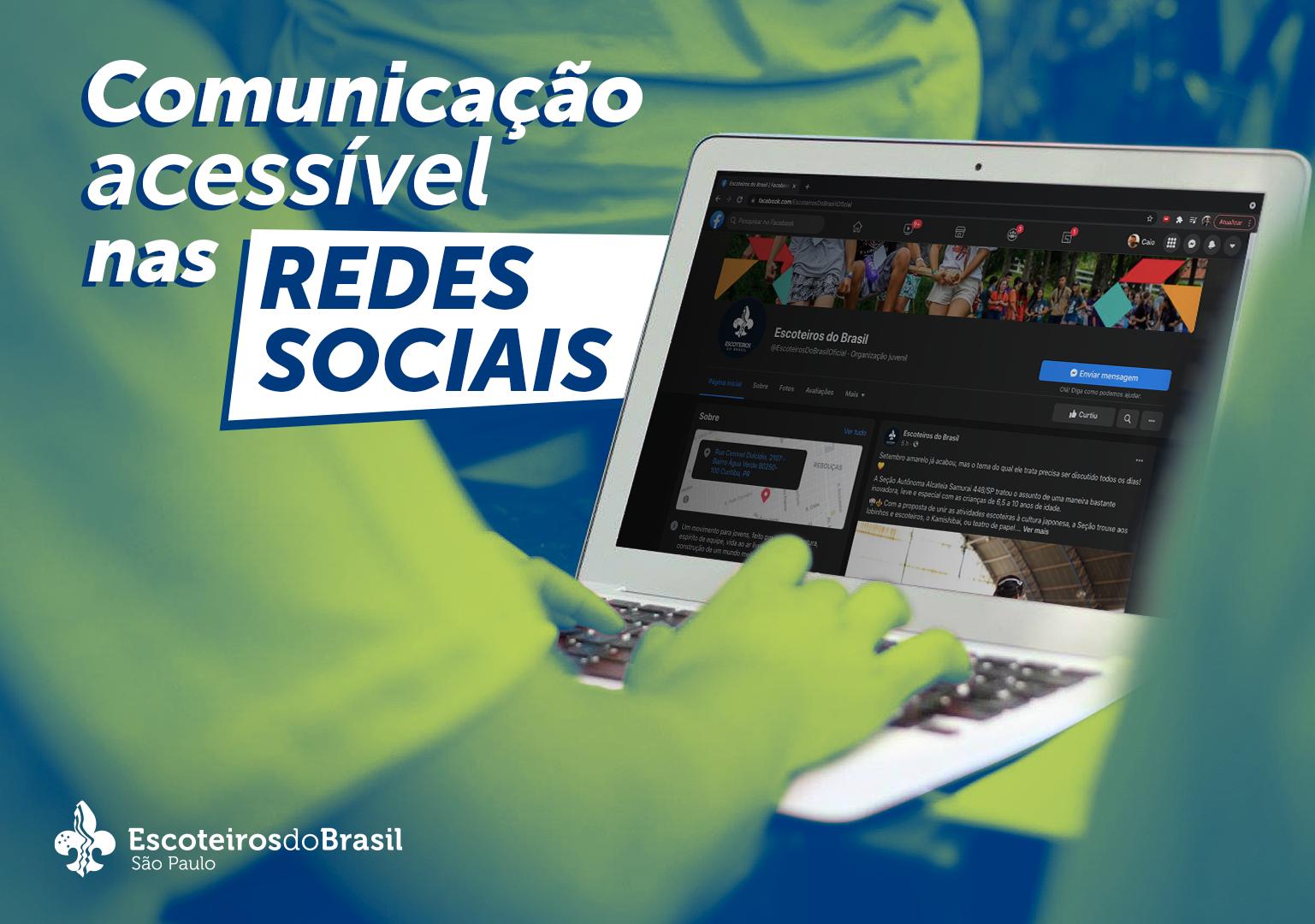 Comunicação Acessível nas redes sociais